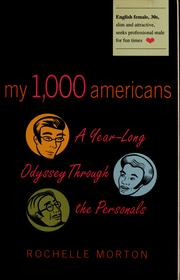 My 1,000 Americans