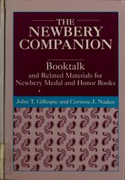 Cover of: The Newbery companion
