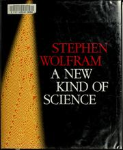 Cover of: A new kind of science