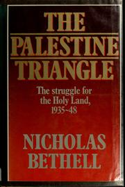 Cover of: The Palestine triangle
