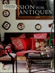 Cover of: A passion for antiques
