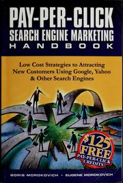 Cover of: Pay-per-click search engine marketing handbook