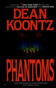 Cover of: Phantoms | Dean R. Koontz