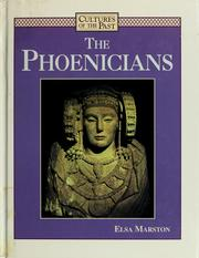 Cover of: The Phoenicians | Elsa Marston