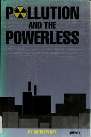 Cover of: Pollution and the powerless