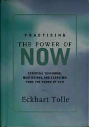 Cover of: Practicing the power of now
