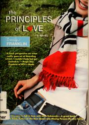 Cover of: The principles of Love