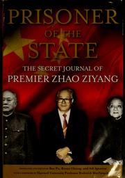 Prisoner of the state by Ziyang Zhao