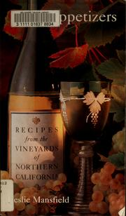Cover of: Recipes from the Vineyards of Northern California