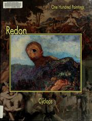Cover of: Redon, Cyclops | Federico Zeri