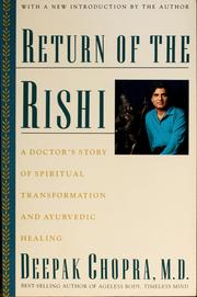 Cover of: Return of the rishi | Deepak Chopra
