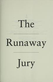 Cover of: The runaway jury
