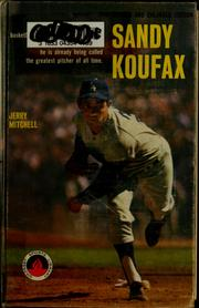 Cover of: Sandy Koufax | Jerry Mitchell