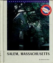 Cover of: Salem, Massachusetts