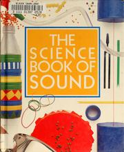 Cover of: The science book of sound | Neil Ardley