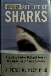 Cover of: The secret life of sharks