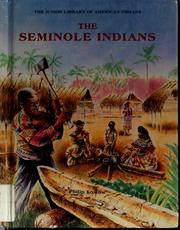 Cover of: The Seminole Indians