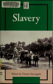 Cover of: Slavery