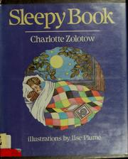 Cover of: Sleepy book