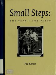 Cover of: Small steps