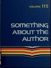 Cover of: Something About the Author v. 115 by Alan Hedblad