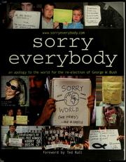 Sorry everybody by James Zetlen