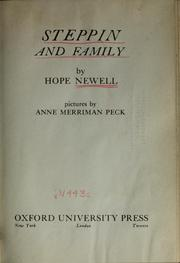Cover of: Steppin and family | Hope Hockenberry Newell
