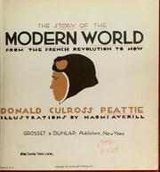 Cover of: The story of the modern world