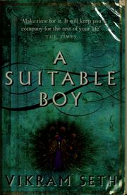 Cover of: A suitable boy