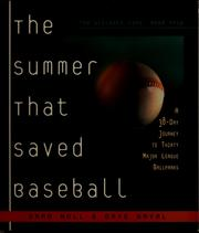 Cover of: The summer that saved baseball | Brad Null