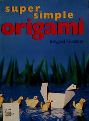Super simple origami by Irmgard Kneissler
