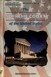 Cover of: The Supreme Court of the United States