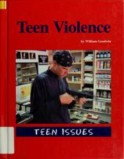 Cover of: Teen violence