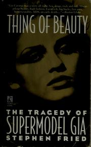 Cover of: Thing of Beauty | Tony Attwood
