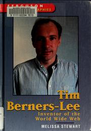 Cover of: Tim Berners-Lee