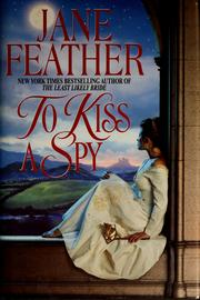 Cover of: To kiss a spy