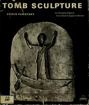 Cover of: Tomb sculpture