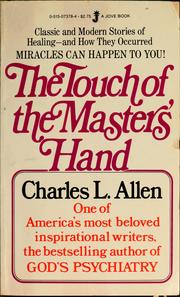 Cover of: The touch of the Master's hand