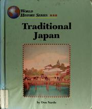 Cover of: Traditional Japan