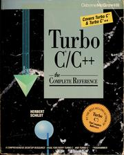 Cover of: Turbo C/C++