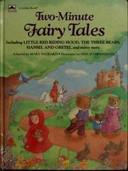 Cover of: Two-minute fairy tales