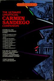 The Ultimate Unofficial Carmen Sandiego Companion by Corey Sandler, Tom Badgett