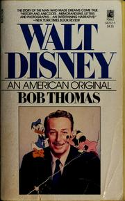 Walt Disney by Thomas, Bob