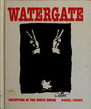 Cover of: Watergate | Daniel Cohen