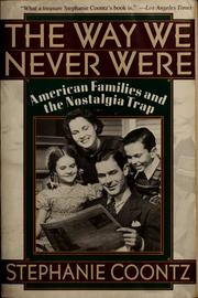 Cover of: The way we never were