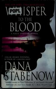 Cover of: Whisper to the blood