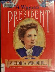 Cover of: A woman for president