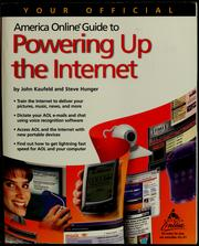 Cover of: Your official America Online guide to powering up the Internet