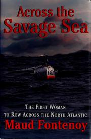Cover of: Across the savage sea