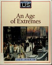 Cover of: An age of extremes